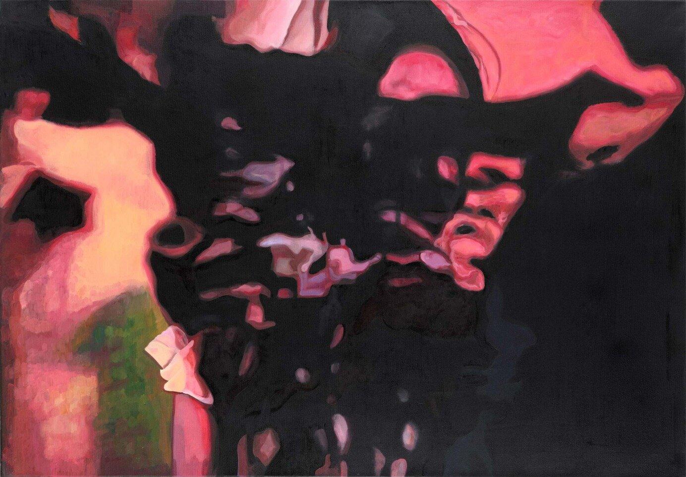 Doppelgänger, 80 x 115 cm,  oil on canvas, 2017