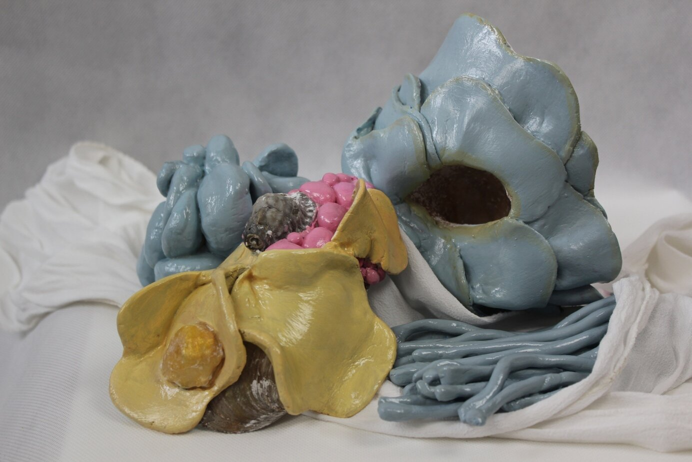 The Hall of Lost Steps, ceramics composition (1 )
