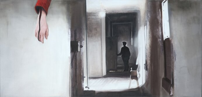 untitled, 60 x 125 cm, oil on canvas, 2016